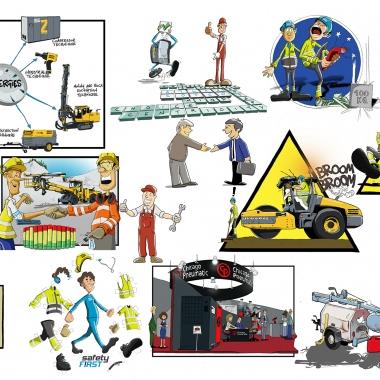 cartoon_atlas_copco_02_collage
